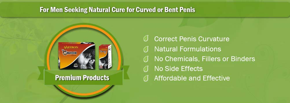Herbal Treatment for Curved or Bent Male Organ