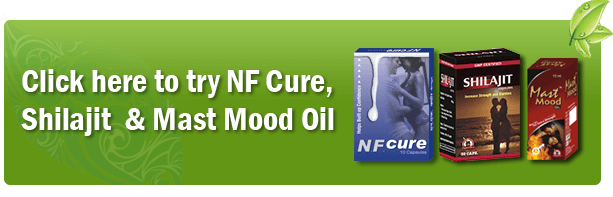 NF Cure, Shilajit and Mast Mood Oil